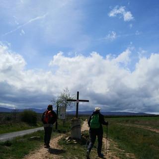 Op weg naar het Cruz bij El Ganso