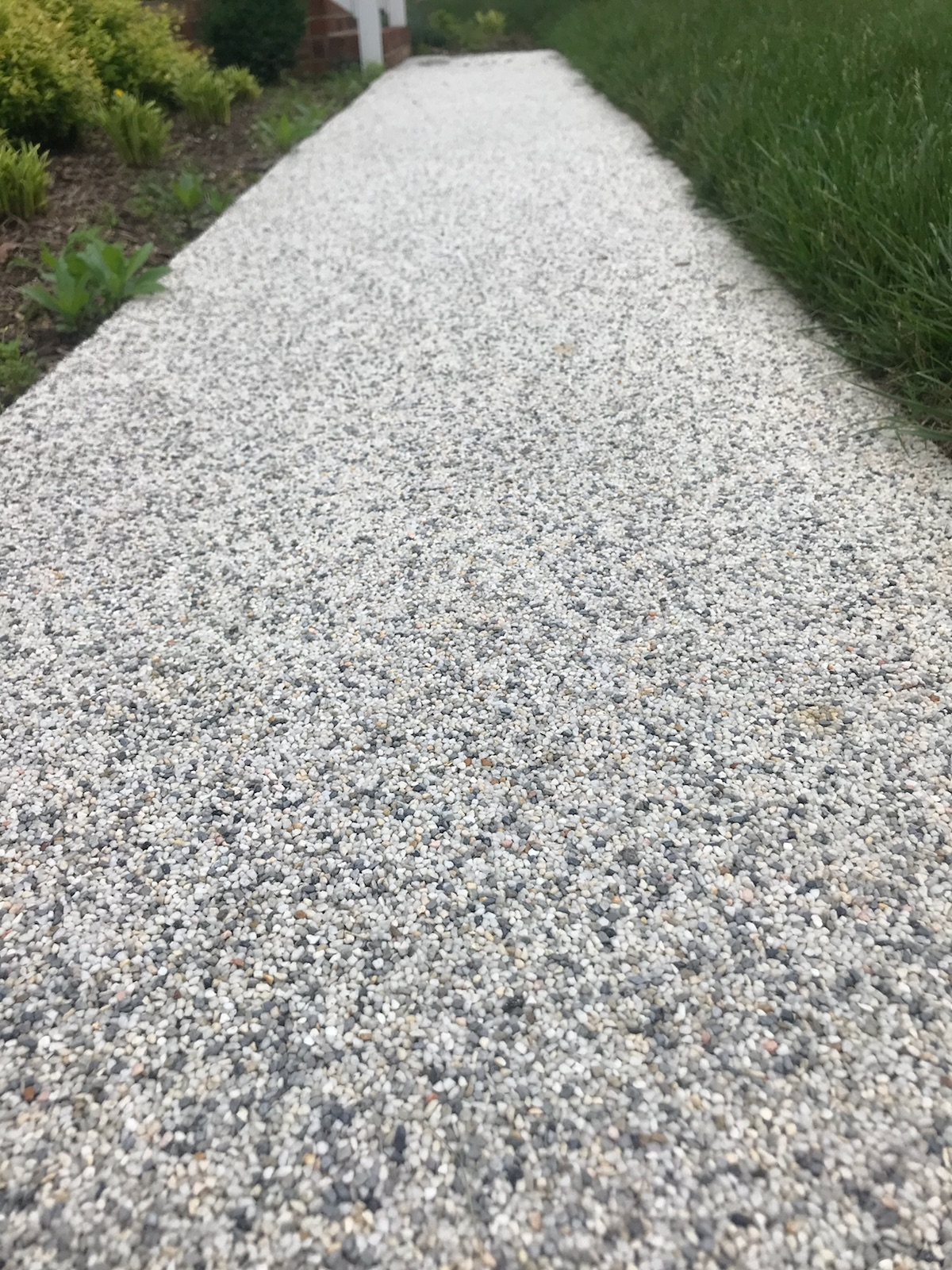River Rock Sidewalk