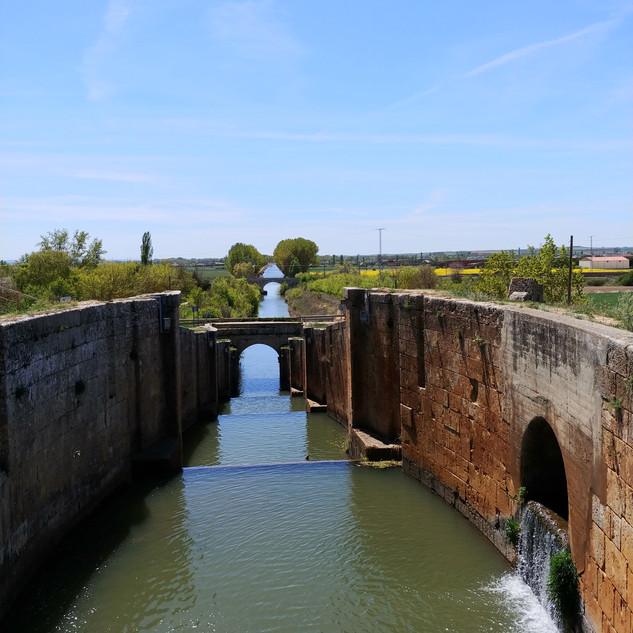 Canal de Castillia - 17e eeuwse sluizen
