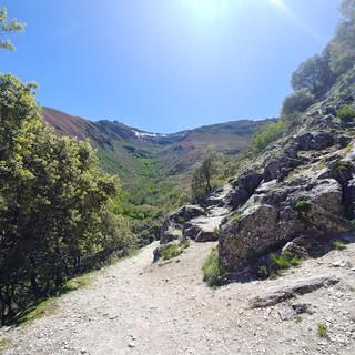 Valle de Silencio- de vallei der stilte