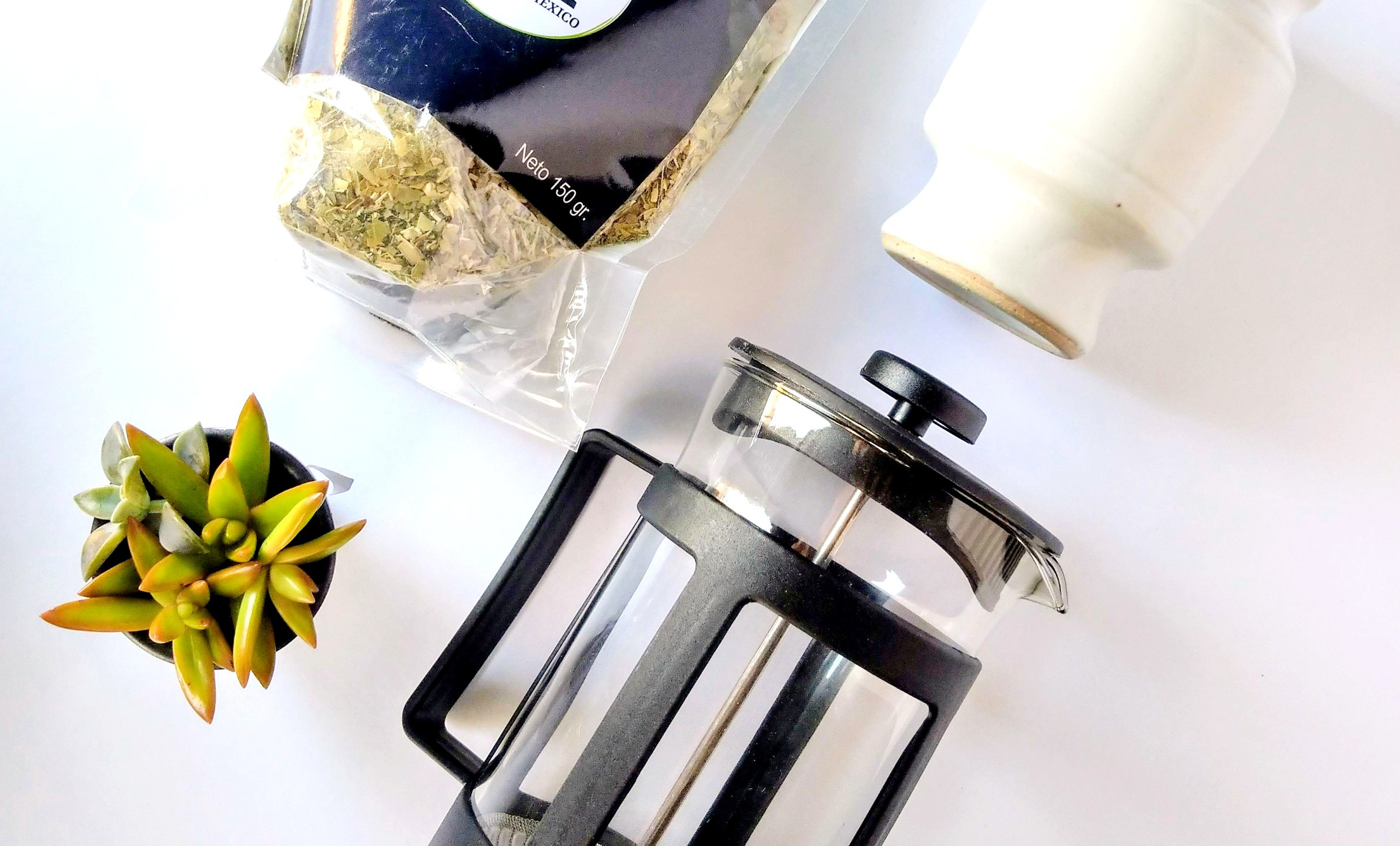 MATE COCIDO EN FRENCH PRESS