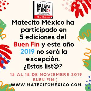 Matecito en el buen fin 2019 mexico
