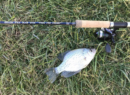 Breaking in a new rod and reel