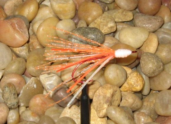 Zuma minnow bling hot orange glow white glow flash #2 red hook