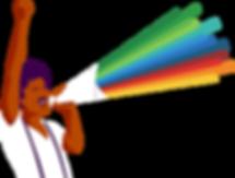 Illustration-of-a-guy-with-a-rainbow-meg