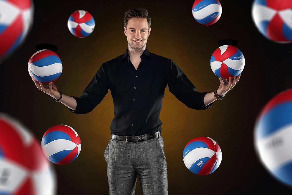 Let's Keep The Ball Flying Founder Mr. Lesley de Jonge