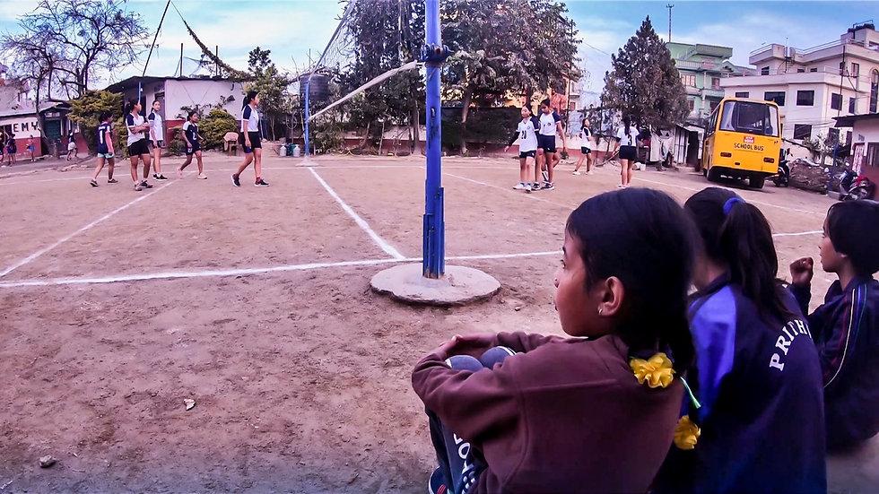 volleyballcourt new diamond