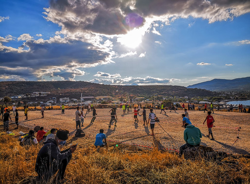 Volleyball As A Way Out For Refugees In Greece