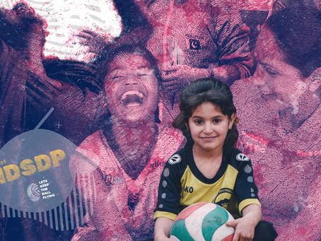 Highlighting the significance of volleyball on IDSDP 2021