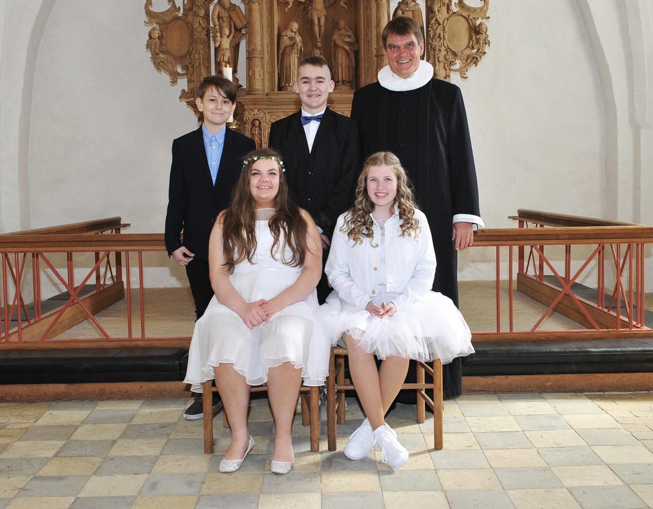 Egebjerg Kirke konfirmander 2017