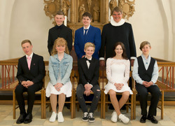 Egebjerg Kirke konfirmanrmander_2019