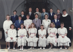 Egebjergkirke_konfirmander_1992