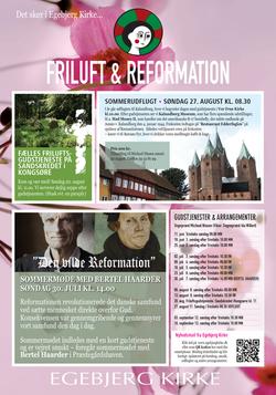Egebjerg kirke plakat