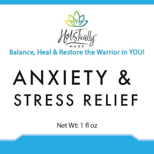 Anxiety & Stress Relief Tincture