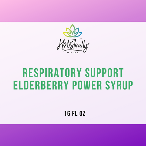 Respiratory Support Elderberry Power Syrup