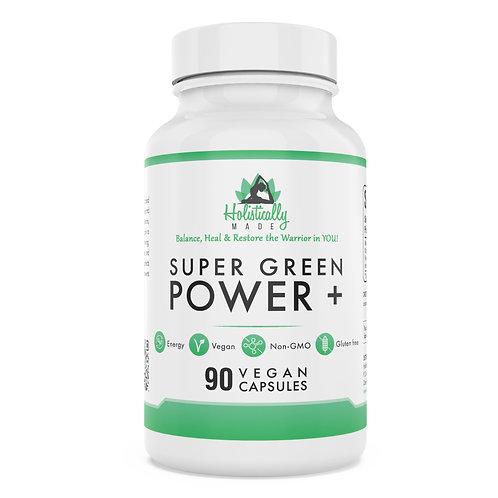 Super Green Power Capsules (Plus Formula)