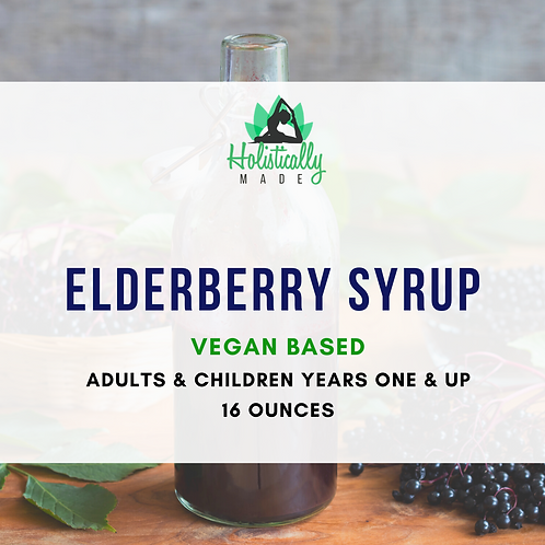 Elderberry Vegan Syrup