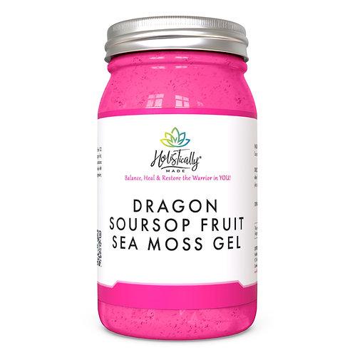 Dragon Soursop Fruit Sea Moss Gel (32 oz)