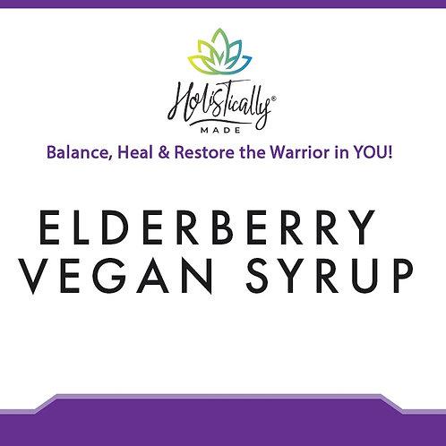 Elderberry Vegan Syrup