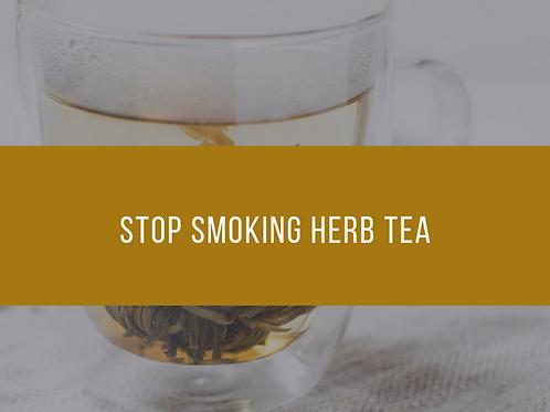 Stop Smoking Tea
