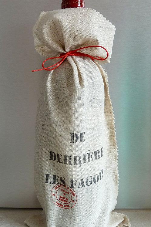 """Lot de 2 Paquets cadeau pour bouteille. """"De derrière les fagots"""","""