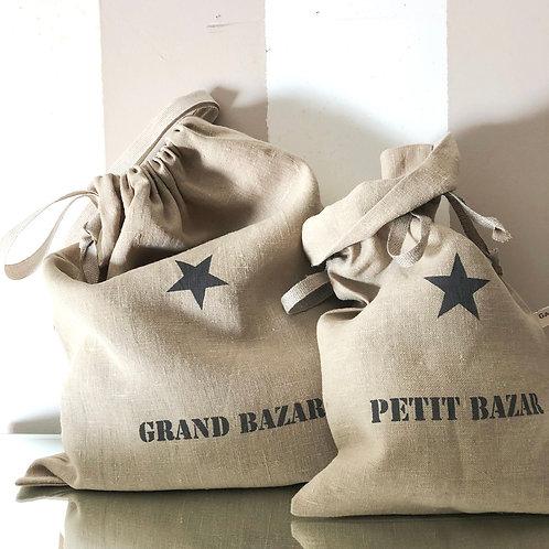 Pochon pour Grand ou Petit Bazar