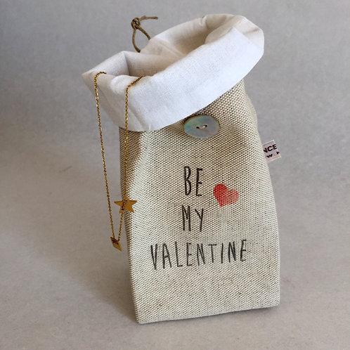 Petit pochon Be my Valentine