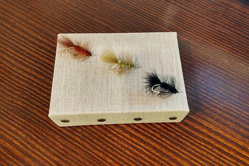 Wooly Bugger Lapel Pin