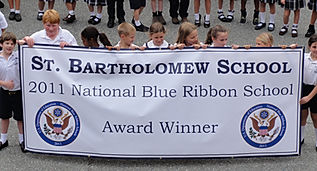 St. Bartholomew School 2011 Nationl Blue Ribbon Award