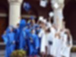 St. Bartholomew Class Graduation Photo