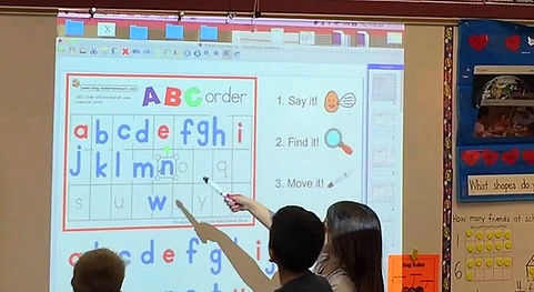 St. Batholomew Interactive Classroom Photo