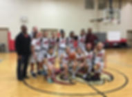 St. Bartholomew CYO U14 Basketball Team