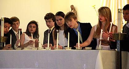 St. Bartholomew Candle Lighting Ceremony