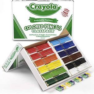 Class Set of Color Pencils