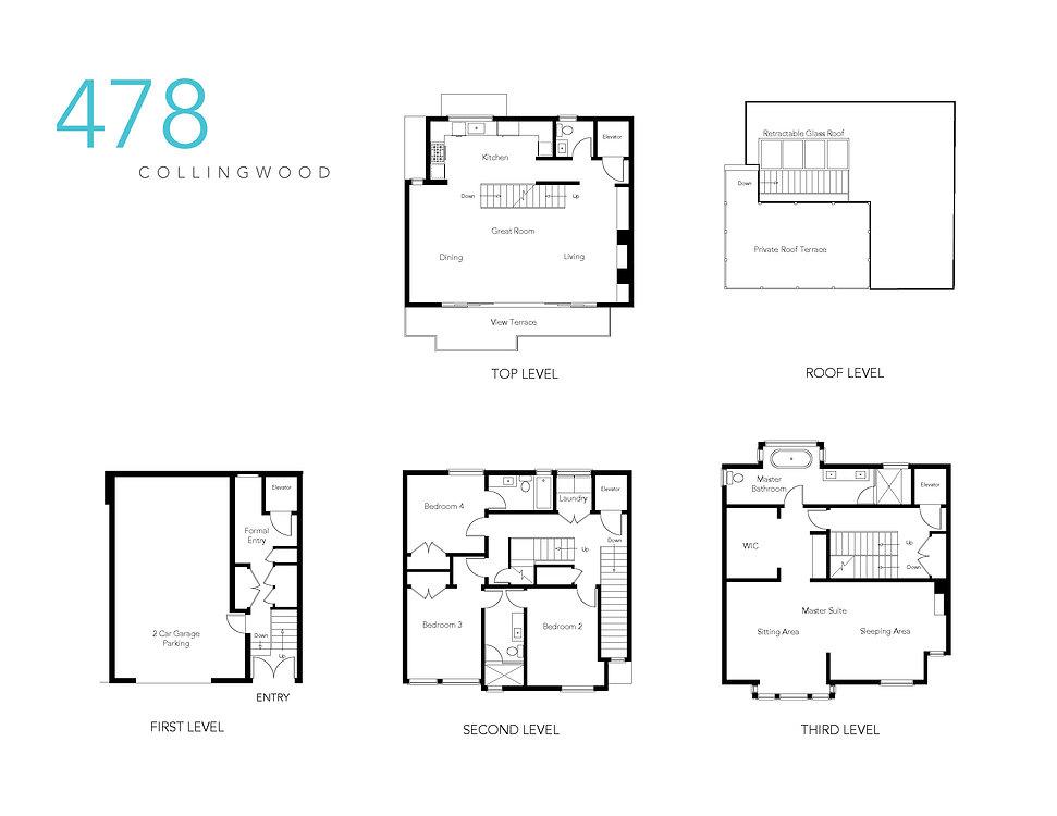 Floor Plan 478 Collingwood