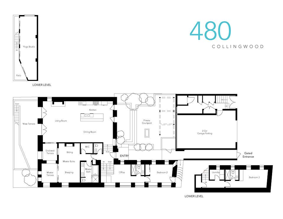 480 Colligwood Floor Plan