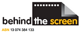 behind the screen logo