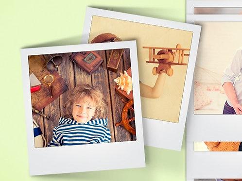 Formato Polaroid 9x10 Pack de 12 ud.