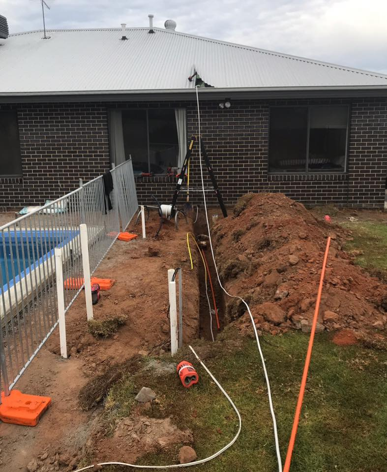 Concept Electrical NSW new pool