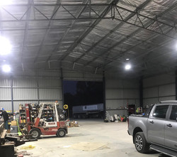 Concept Electrical NSW shed upgrade