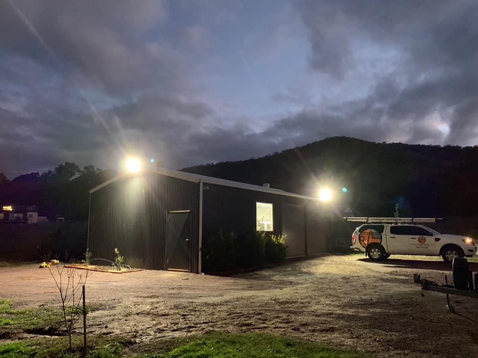 Concept Electrical NSW security shed