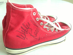 Willis Reed signed my sneakers