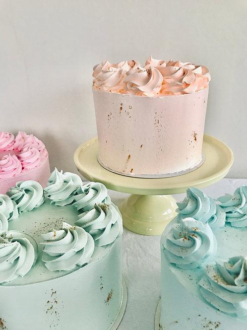 PASTEL CAKE - ORANGE