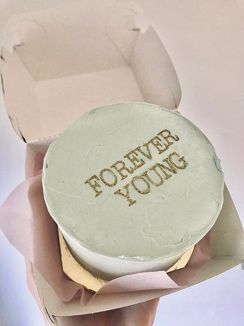 BURGER CAKE - PASTEL GREEN