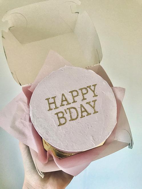 BURGER CAKE - PASTEL LILAC