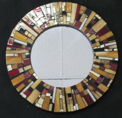 "15"" mirror - wedding gift commission"
