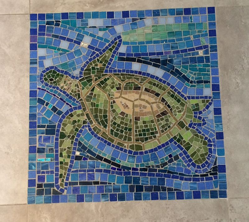 Sea Turtle floor panel