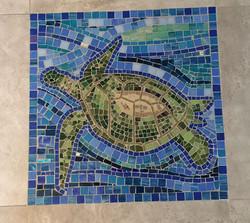 Sea Turtle floor panel