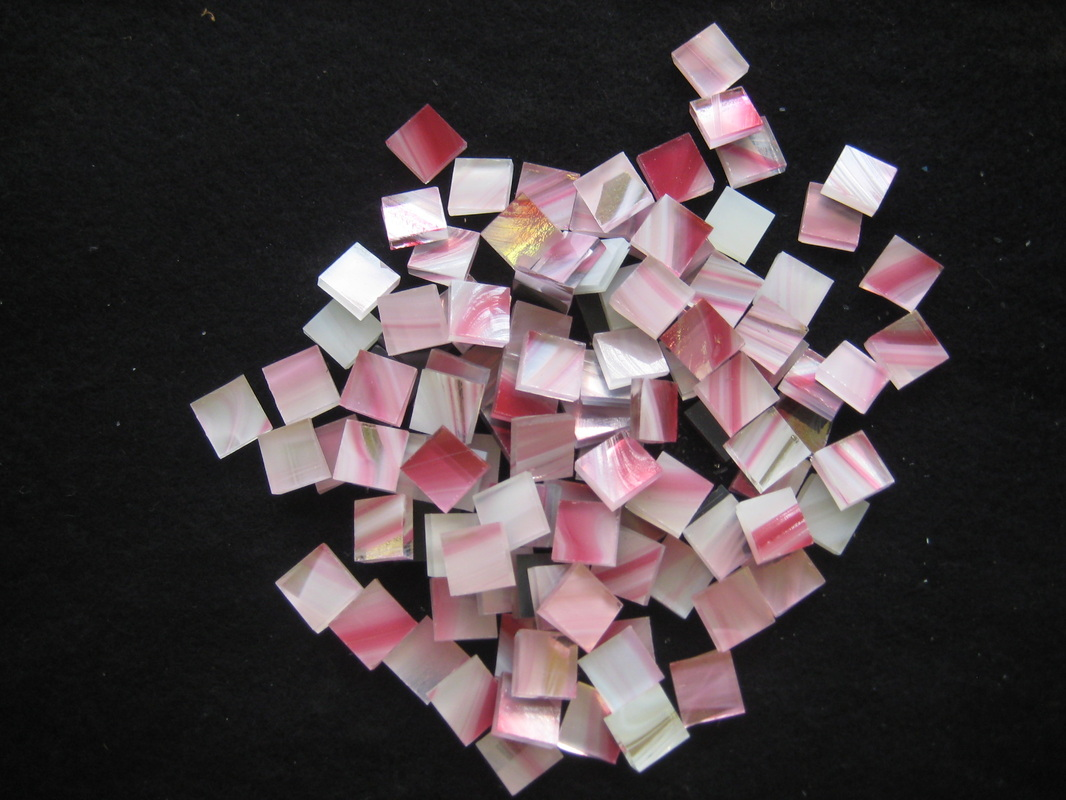 Peppermint Glass Tile