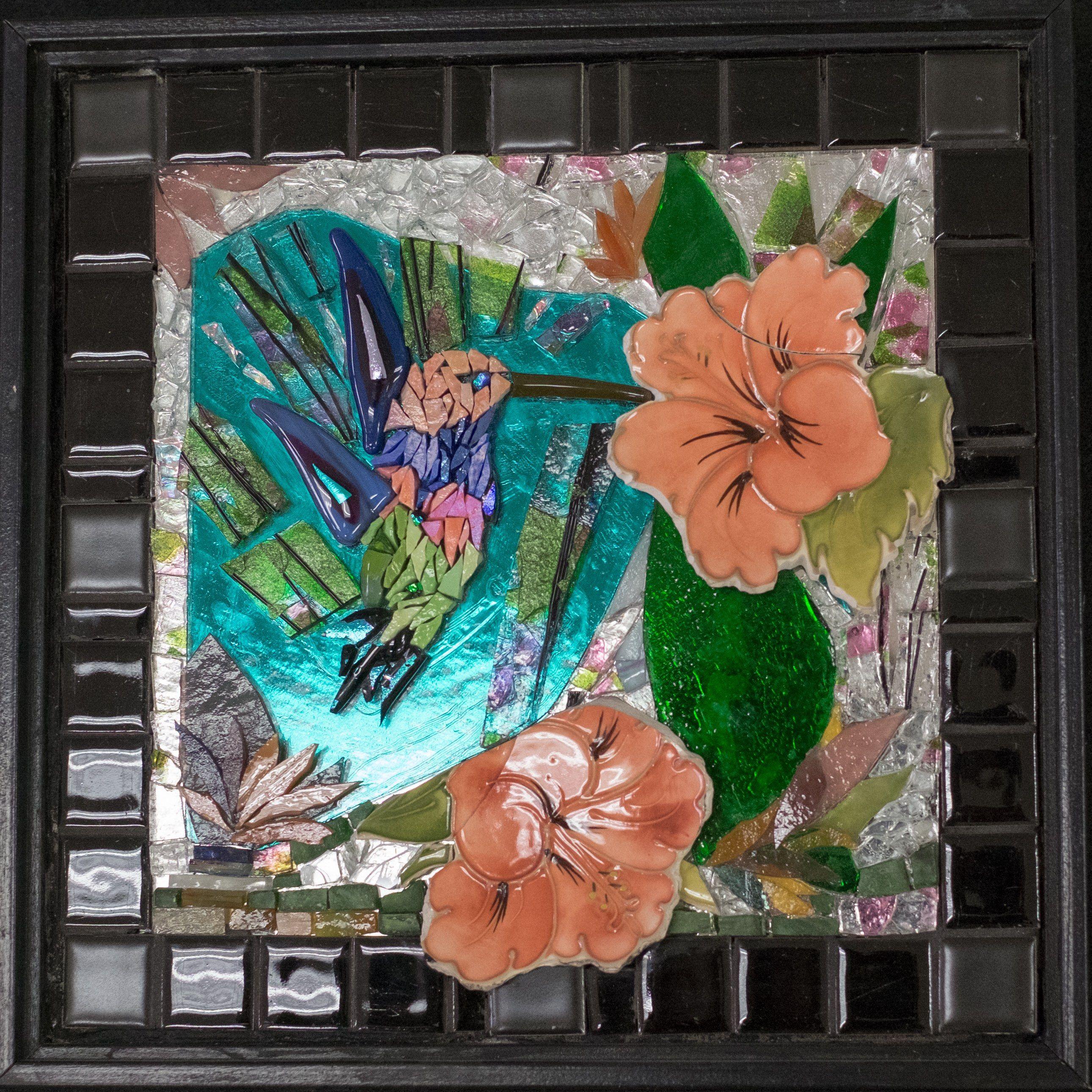 """10"""" sq. Hummingbird - $300"""